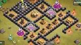 部落战争单人模式 关卡49皮卡超人游乐场攻略