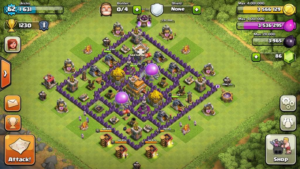 Clash of clans 1230 coc