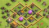 《部落战争》五本阵型分享:新手防御阵
