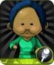 五火球圆脸(绿)