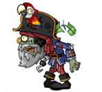 植物大战僵尸2海盗船长僵尸图鉴