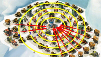 《海岛奇兵》满防资源岛防御阵型详细分析