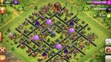 COC部落冲突玩家分享 十本护黑引导阵