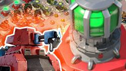 壮烈牺牲《海岛奇兵》8辆烈焰战车副本实战视频