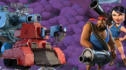胖妹VS钢铁胖妹《海岛奇兵》兵种组合对比