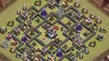 【小D出品COC视频】部落战双坦克流打法