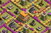COC玩家分享:六本部落站防天胖 球球神阵
