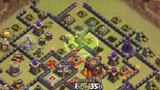 COC玩家分享:常见10本冲杯阵的3星视频