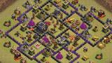 COC玩家分享:九本部落战实用阵形
