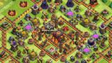 COC玩家分享:十本防两星冲杯+部落战阵