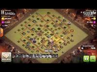 【顶级战争】全十一本更新后的进攻视频分享!