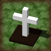 立在地下城的墓碑